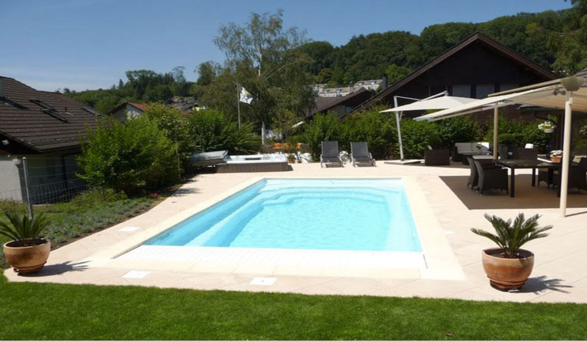 Services concept d tente for Concept piscine