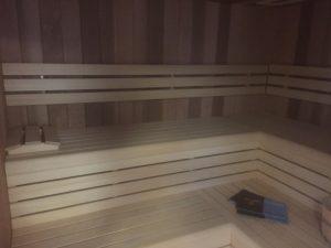cabine sauna infrarouge azento prima black
