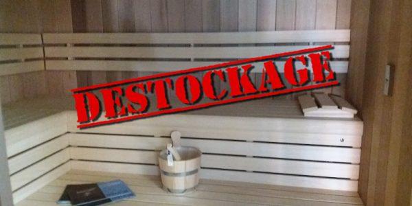 Déstockage Cabine Sauna
